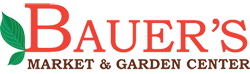 Bauer's Market & Garden Center Logo