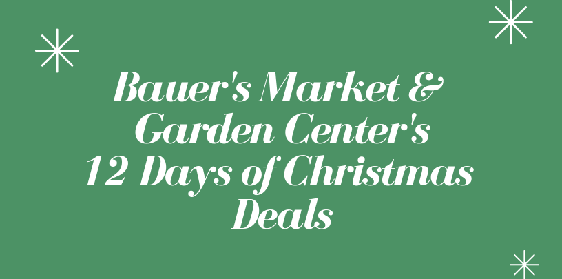 Bauer's Market & Garden Center's 12 Days of Christmas, Daily Deals