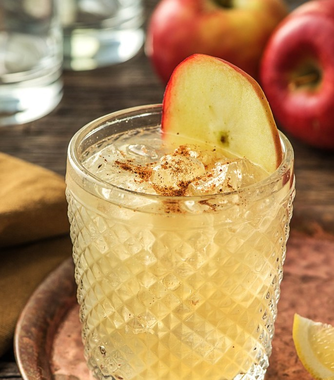 Spiced Apple Gin