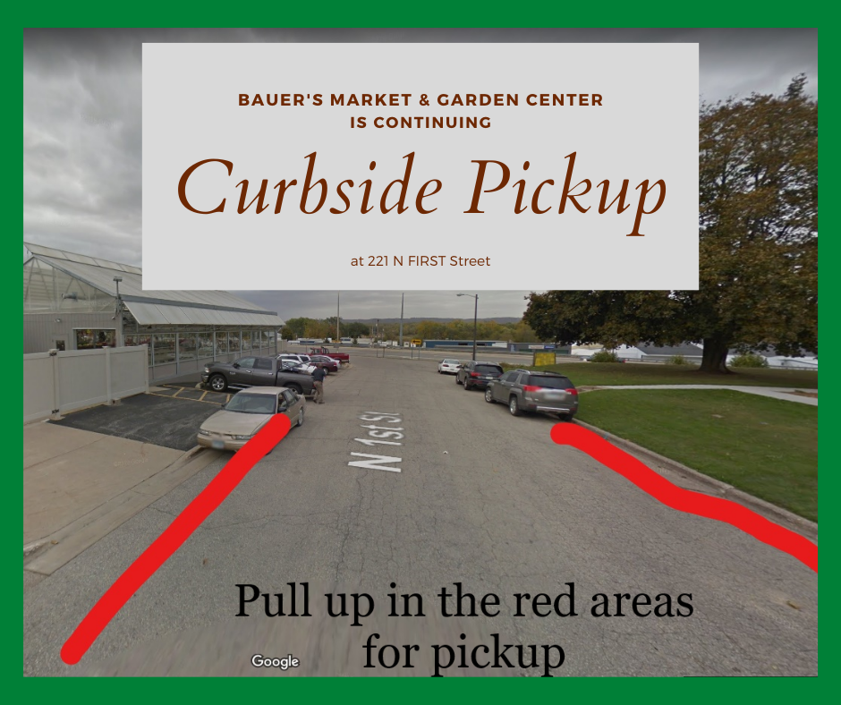 Continuing Curbside Pickup!